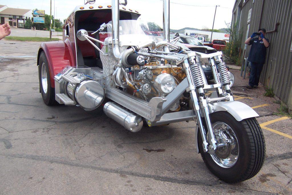 Modified Motor Trike