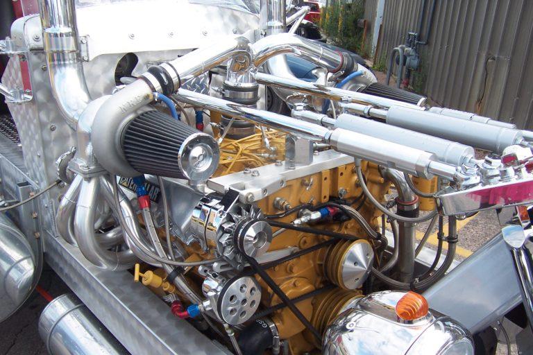 Modified Motor Trike Engine