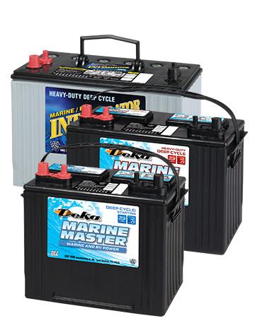 Deka Battery Stack