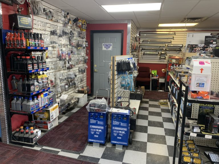 Dakota Battery store interior